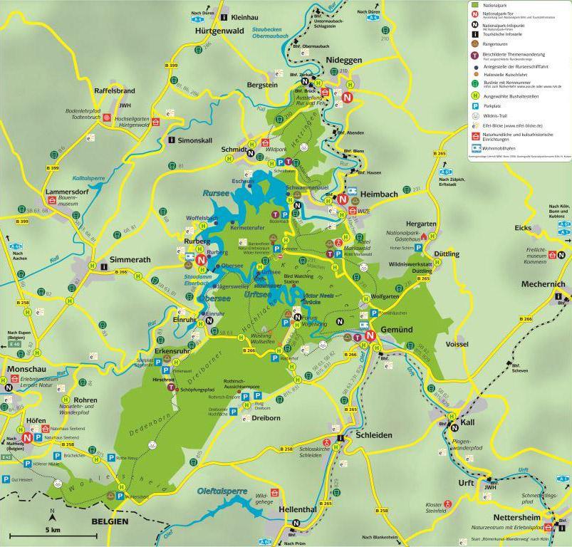 heimbach eifel karte Eifel Infos, Haus am Giebel Heimbach